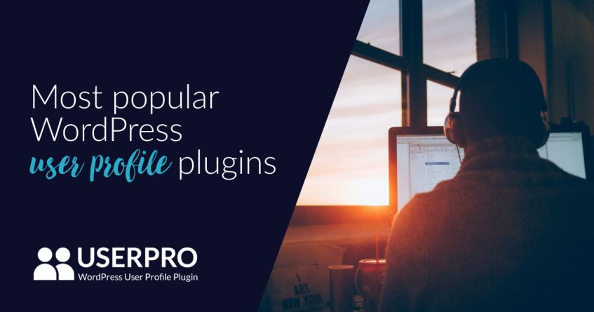 Most popular WordPress user profile plugins