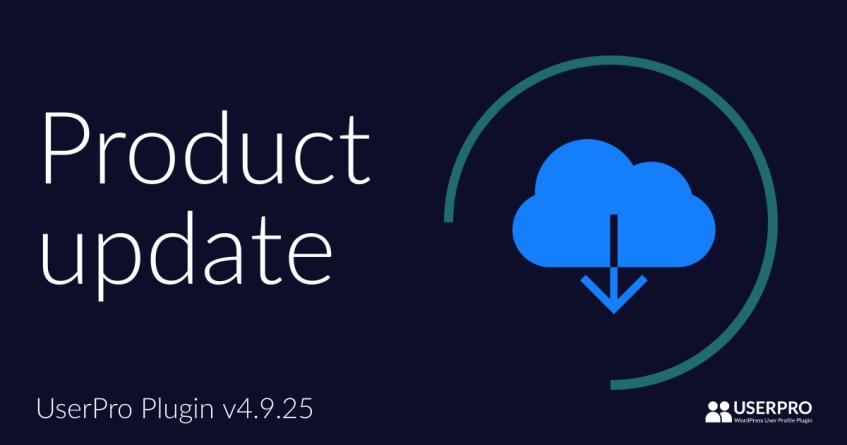 UserPro Plugin Update