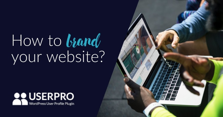 How to brand your website-wordpress community
