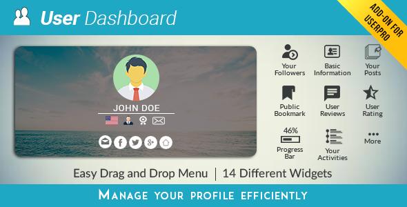 Dashboard - UserPRO